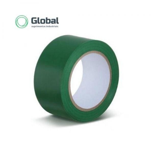 Fita Demarcação de Solo Verde - Verde - 3568